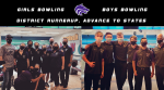 B/G Bowling | District Runnerup, Advance to States