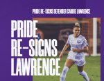 TC Alumni News   Carrie Lawrence Re-signs with Orlando Pride