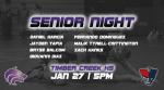 B/G Wrestling   Senior Night vs Freedom Patriots
