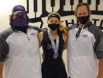 Girls Weightlifting | Sr, Sydney Lake Breaks School Record, Places 6th at States