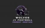 JV Football | Parent Meeting