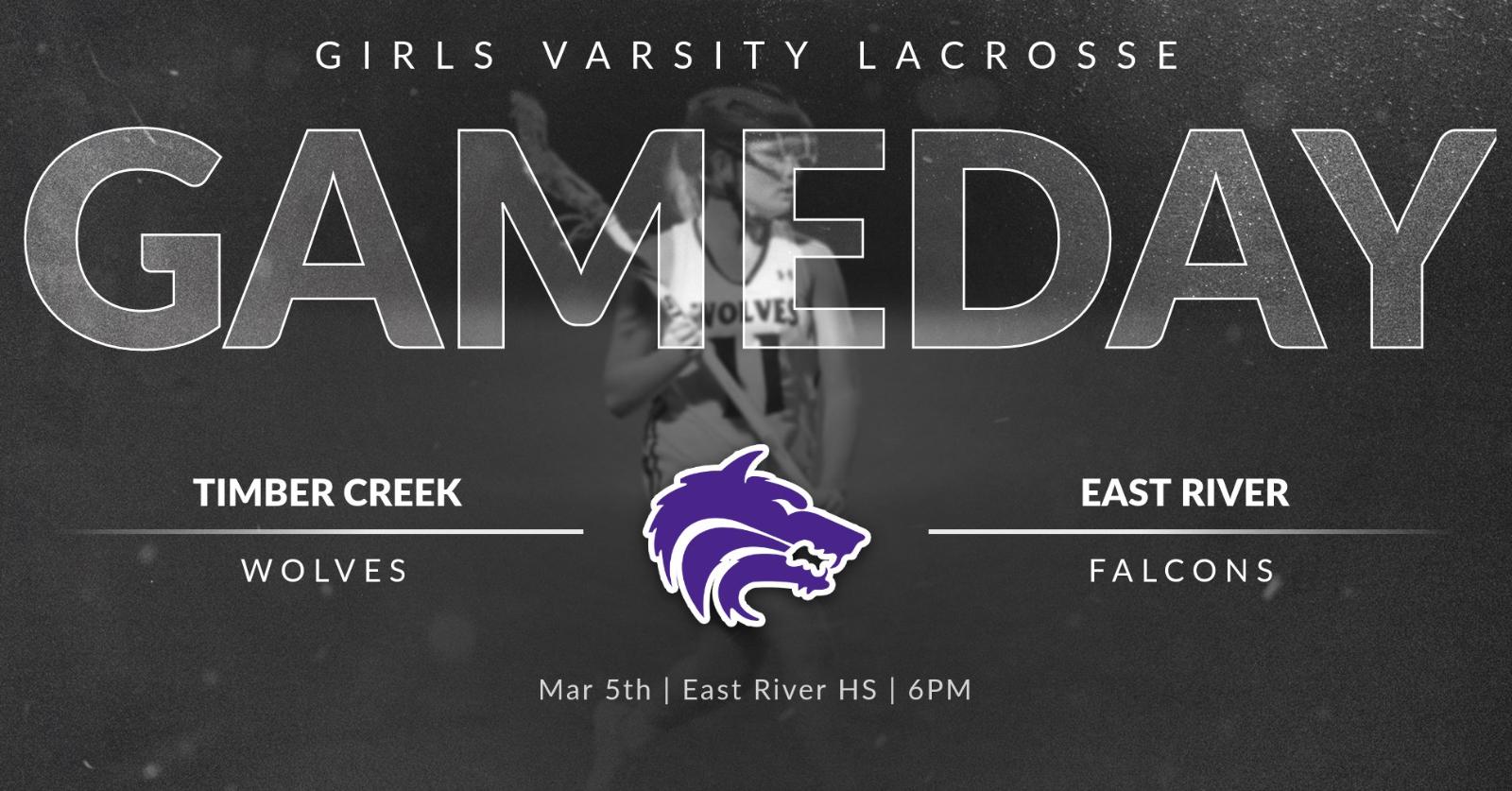 Girls Varsity Lacrosse | GAMEDAY at East River Falcons