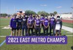 Boys Track & Field | 2021 East Metro Champions