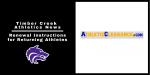 TC Athletics News | Renewing Athletic Clearance Instructions for Returning Student Athletes