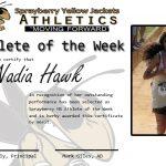 Athlete of the Week – Nadia Hawk