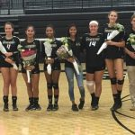 Volleyball Seniors get back to back wins at home!