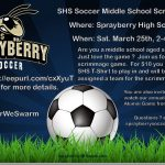 Calling all Middle School Soccer Players