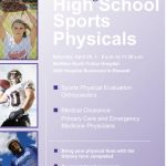 Free Sports Physicals – April 29th!