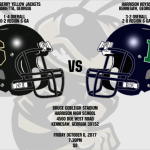 Varsity Football @ Harrison – 10/6/2017 @ 7:30pm