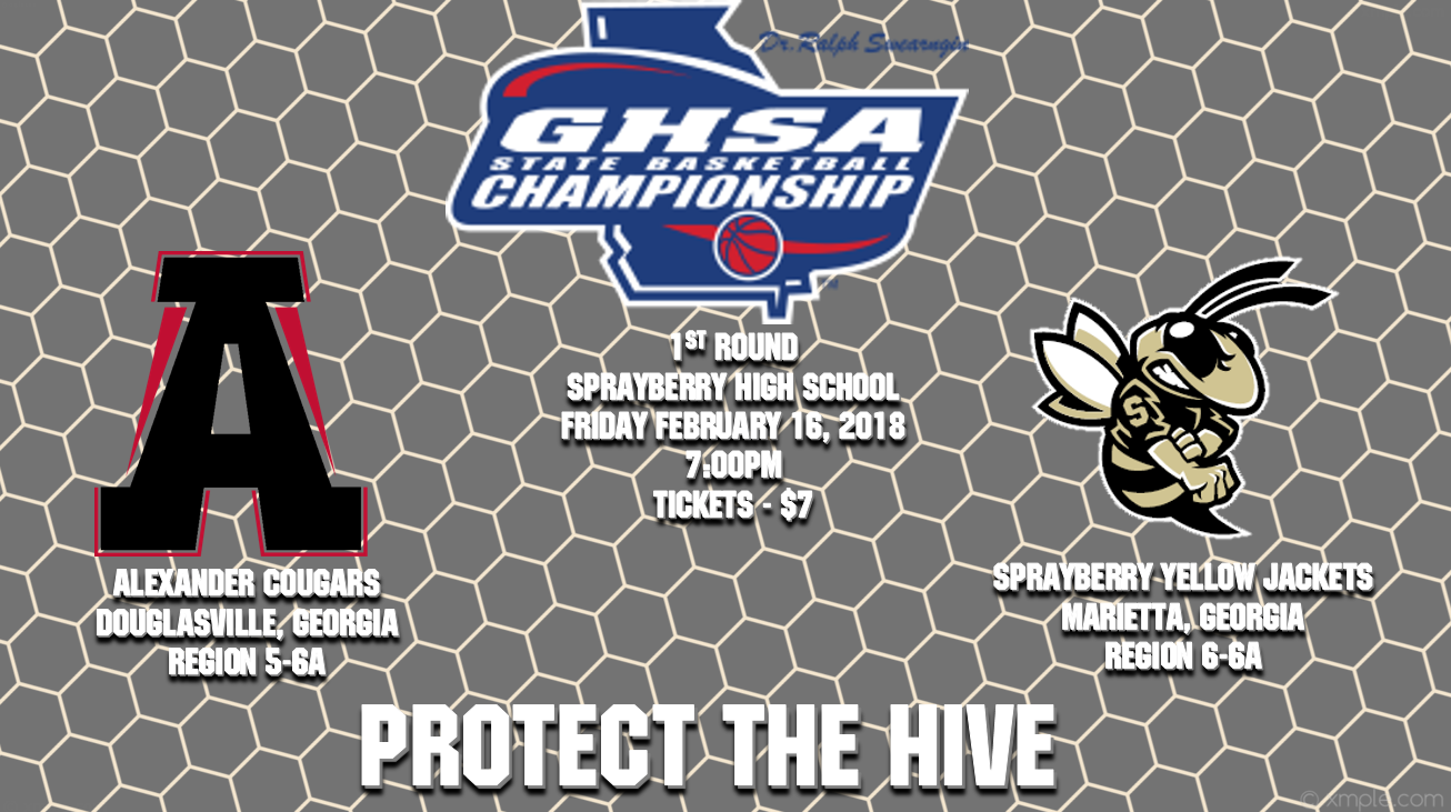GHSA 6A State Tournament – 1st Round!