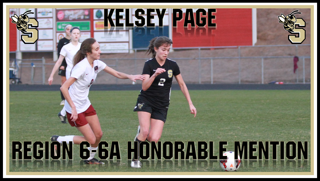 Kelsey Page named Region 6-6A Honorable Mention!