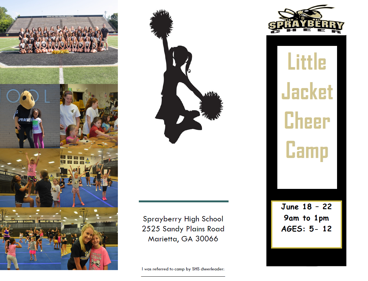 2018 Little Jacket Cheer Camp!