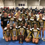 Varsity COED Competition Cheerleading Takes 1st!