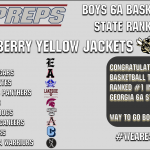 Boys Basketball Tops the MaxPreps Georgia 6A Rankings!
