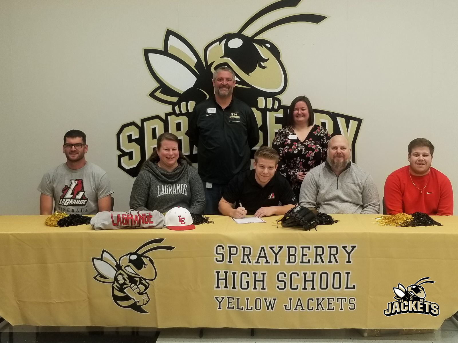 Nate Marletta Signs with LaGrange College!