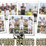 Spring Sports Schedules!