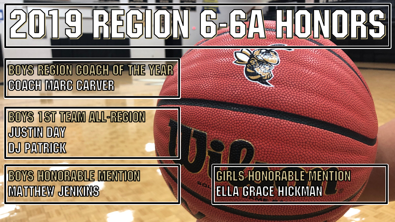 2019 Region 6-6A Basketball Honors