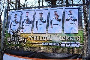 Baseball Senior Night 2020