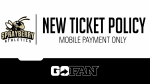 New Ticketing Policy – Mobile Payment Only!