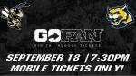 Varsity Football @ Wheeler – 9/18 – Tickets Now Available!