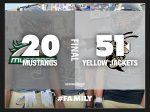 Boys Varsity Football beats Kennesaw Mountain 51 – 20