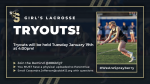 Girls LAX Tryouts!