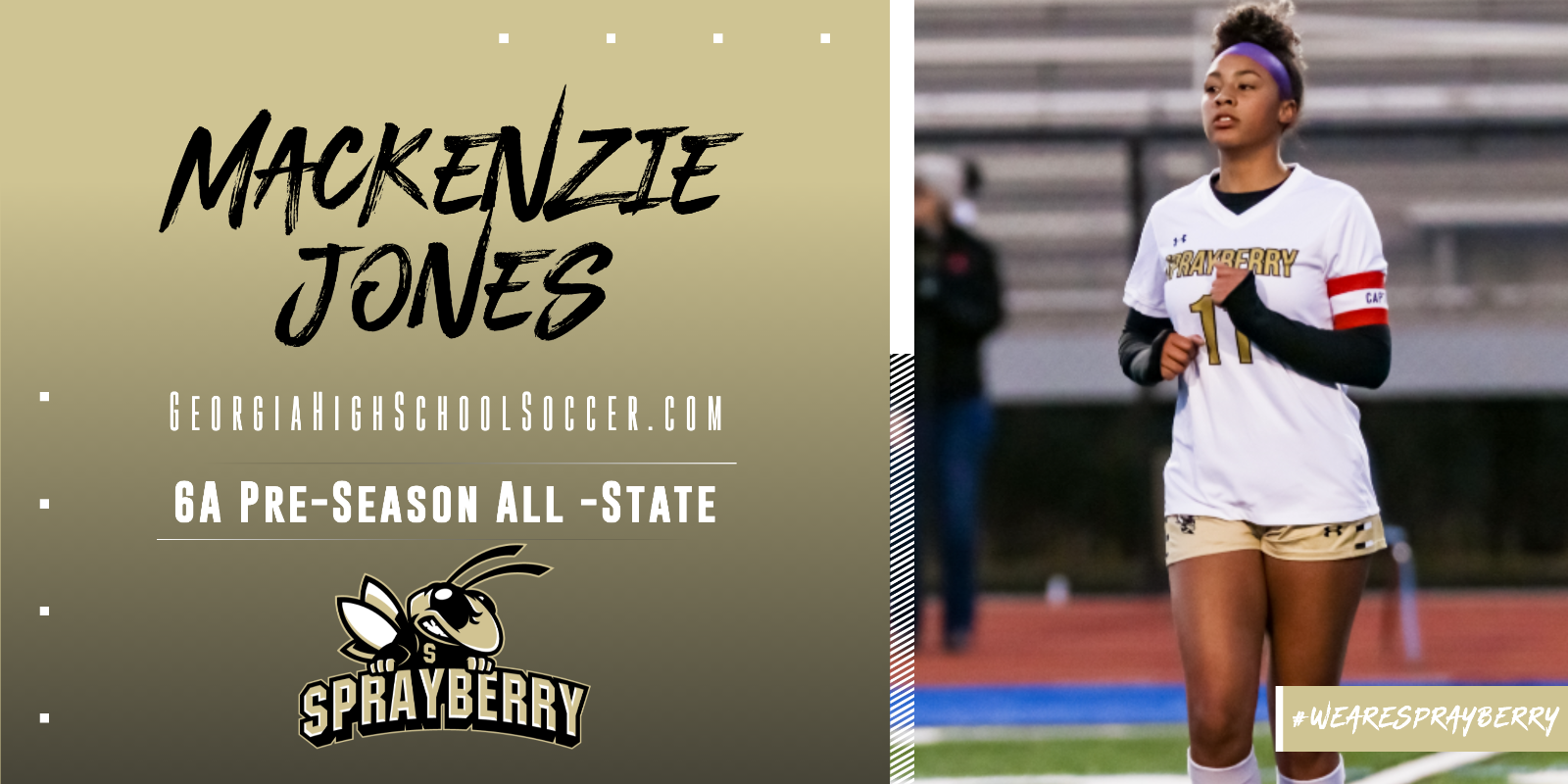 Mackenzie Jones Earns Preseason Honors! ⚽️