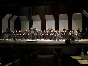 Concert Band Performing at Regional Festival