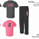 Softball Shirt Orders