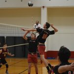 Volleyball on a Roll