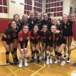 Volleyball Teams Defeat Bishop's