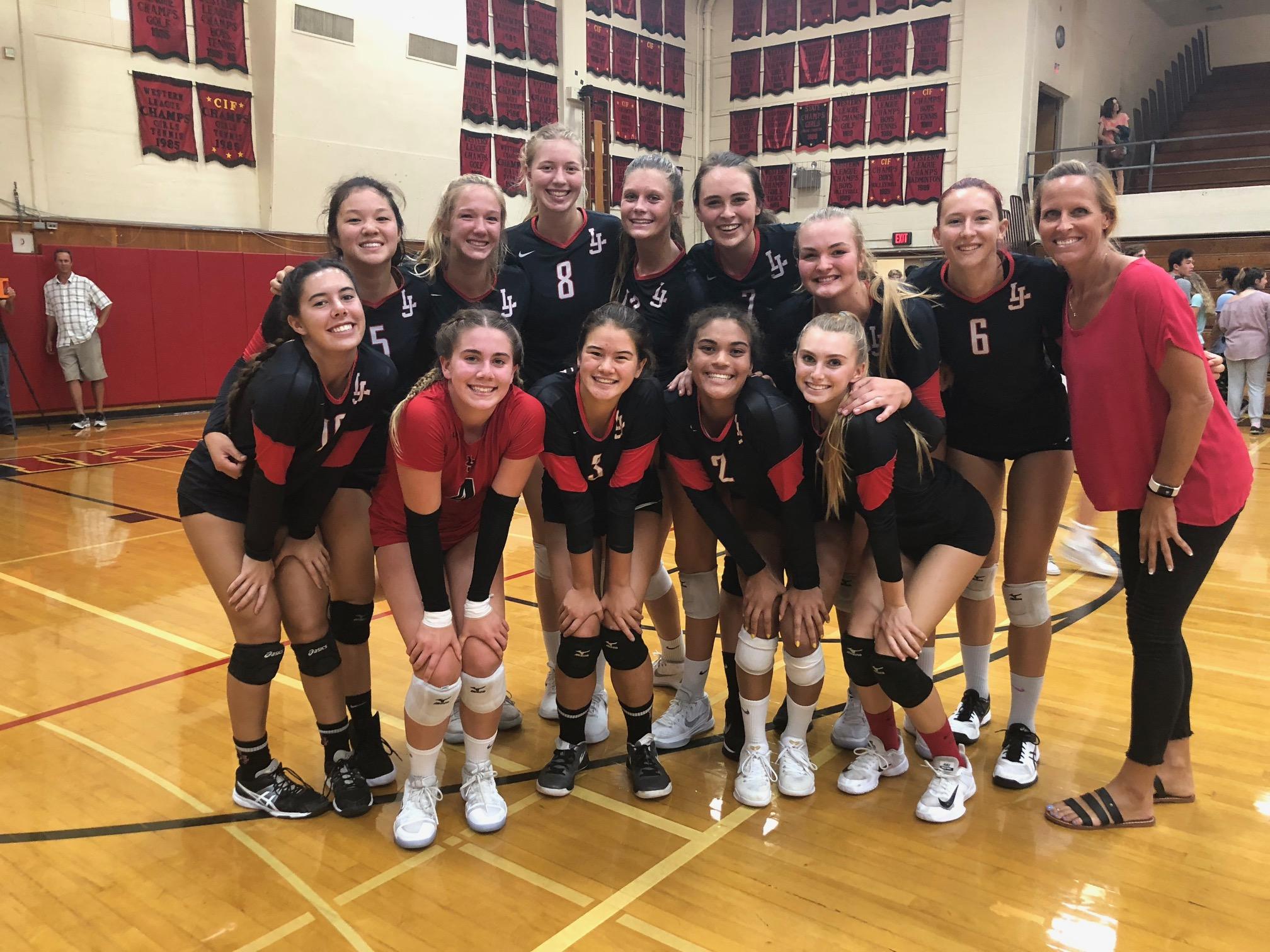 Volleyball Teams Defeat Bishop's