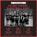 Future Vikes Basketball Night