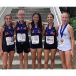 Cross Country Girls Finish 4th