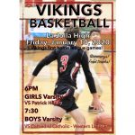 First Home League Basketball Games
