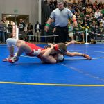 Bomberger CIF Wrestling Champion