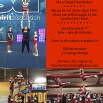 Cheer Clinic March 7th