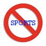ALL La Jolla Sports are Suspended