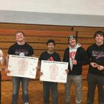Platteville High School Coed Varsity Wrestling finishes 6th place