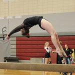 Platteville High School Coed Varsity Gymnastics finishes 2nd place