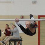 Coed Varsity Gymnastics finishes 5th place at Invitational @ Chippewa Falls