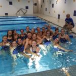 Girls Varsity Swimming finishes 1st over Delavan-Darien and 2nd to Burlington Co-op