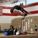 PBL Gymnastics 8th in competition at Chippewa Falls High School