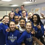 Girls Middle School Basketball beats Delaware Christian School 21 – 11