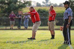Whitko Varsity Football Garrett Scrimmage 8/16/13