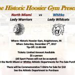 Hoosier Gym Girls Basketball Game Info