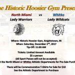 Hoosier Gym Girls Basketball Game Info