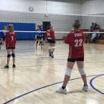 Elementary Volleyball Competes