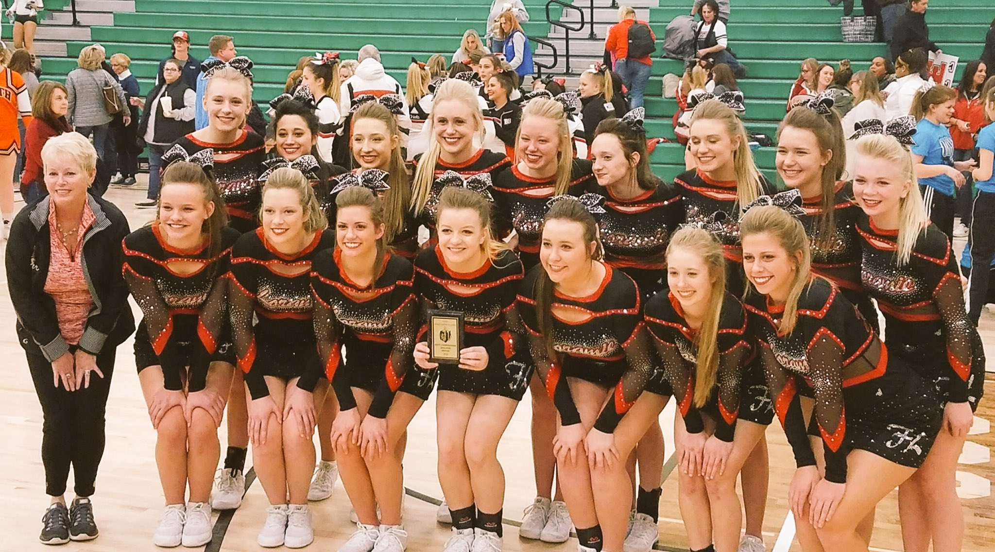 Loramie Competition Cheer Headed to State!