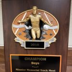 Girls 5th and Boys 1st at Minster Memorial Track Meet